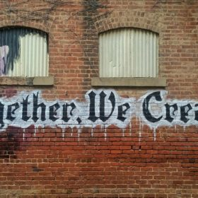 working with an agency blog post. Together we create graffiti on the wall